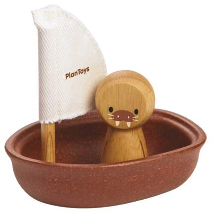 """Игрушка для ванны """"Лодка и морж"""""""