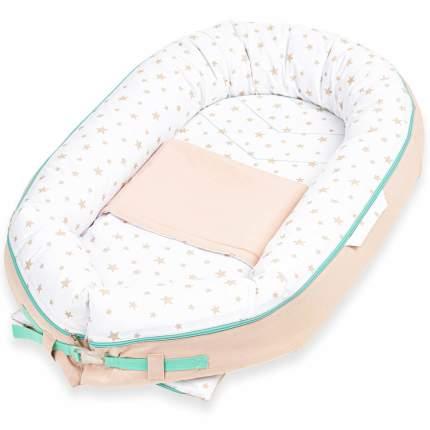 Кокон-гнездышко для новорожденных loombee Дерби BN-0023