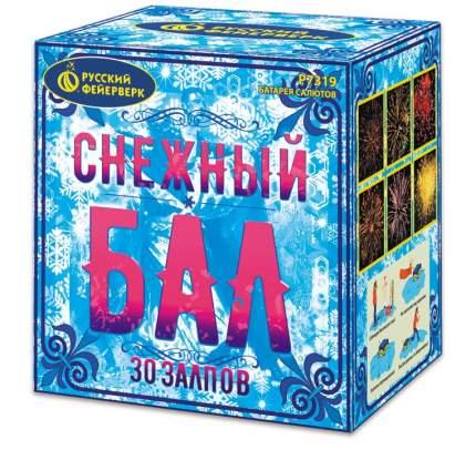 Салют Русский Фейерверк Р7319 Снежный бал 30 залпов