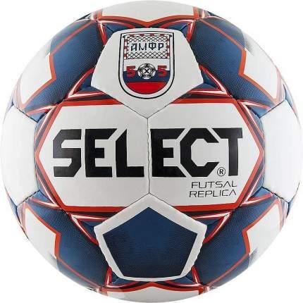 Футзальный мяч Select Futsal Replica №5 white/blue/red
