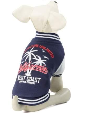 Куртка-бомбер для собак Triol California, L, длина спины 35см