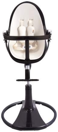 Стульчик для кормления BLOOM Fresco chrome NOIR черный, вкладыш белый