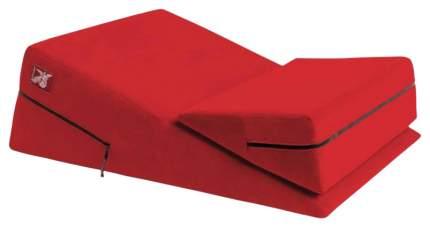 Подушка для любви Liberator Wedge Ramp комбо большая и малая, красная микрофибра 11215103