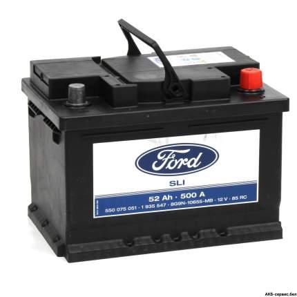 Аккумулятор FORD 52R 500A 242x175x175 1712277