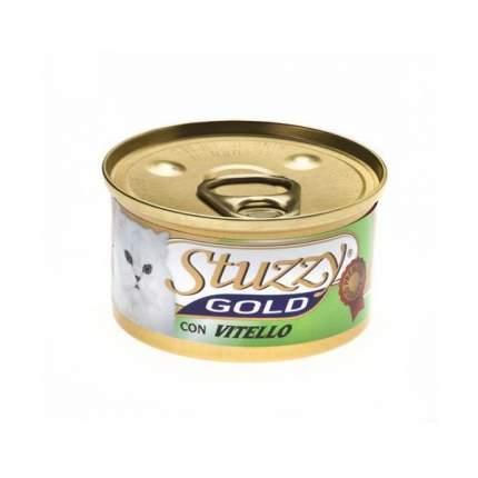 Консервы Stuzzy Gold Мусс для кошек (85 г, Говядина)