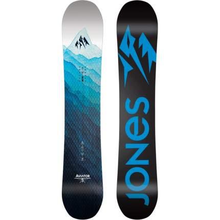Сноуборд Jones Aviator W 2020 Black/Blue, 160 см