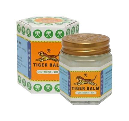 Тигровый белый бальзам Tiger Balm 20 г