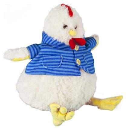 """Игрушка мягкая Bebelot """"Петушок в рубашке"""", цвет: белый, 22 см"""