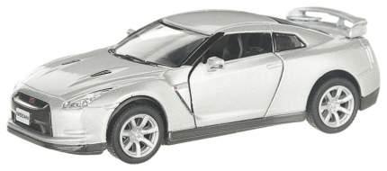 Машина металлическая Nissan GT-R R35, масштаб 1:36, открываются двери, инерция Kinsmart