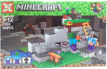 Конструктор Minecraft CoolToys Подземелье 183 детали