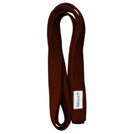 Пояс для кимоно Atemi AKB01 коричневый, 280 см