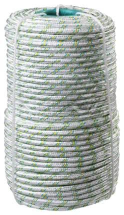 Фал плетёный капроновый СИБИН 16-прядный диаметр 6 мм, бухта 100 м, 650 кгс