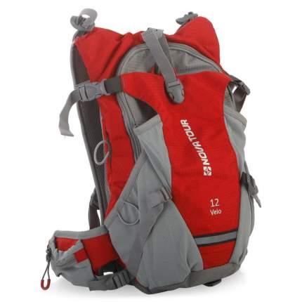 Велосипедный рюкзак Nova Tour Вело 12 л, красный/серый