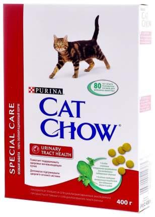 Сухой корм для кошек Cat Chow Special Care Urinary Tract Health, при МКБ, птица, 0,4кг