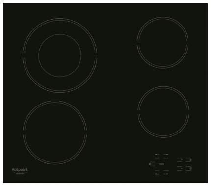Встраиваемая варочная панель электрическая Hotpoint-Ariston HR 622 C Black