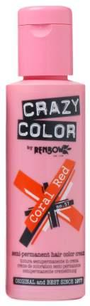 Краска для волос Crazy Color-Renbow Crazy Color Extreme тон 57 красный коралл, 100 мл