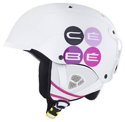 Горнолыжный шлем Cebe Contest Visor 2017, белый, M