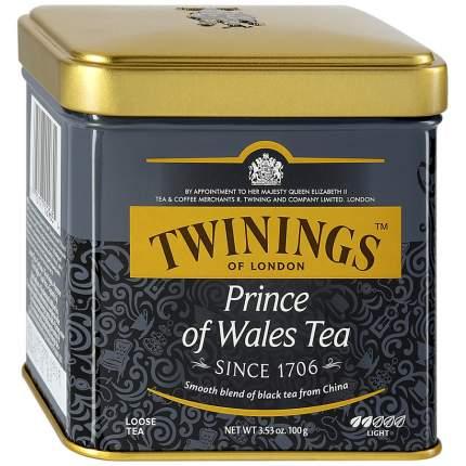 Чай черный Twinings принц уэльский байховый среднелистовой 100 г