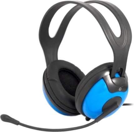 Игровые наушники Ritmix RH RH-945M Blue/Black