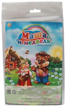 Семейная настольная игра Рыжий кот Маша и медведь