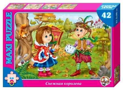 Пазл Десятое Королевство Снежная королева, Герда и маленькая разбойница
