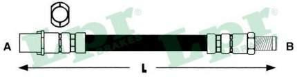 Шланг тормозной системы Lpr 6T46788