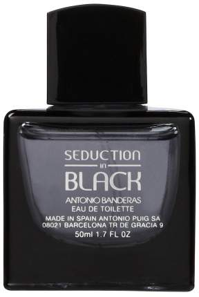 Туалетная вода Antonio Banderas Seduction In Black 50 мл