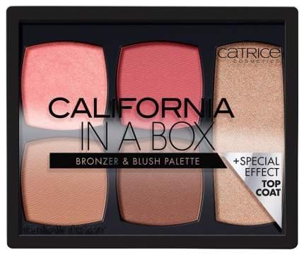 Палетка бронзеров и румян Catrice California In A Box Bronzer & Blush Palette, 010