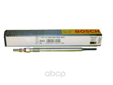 Свеча накаливания BOSCH 0250403008