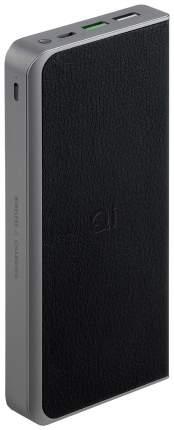 Внешний аккумулятор InterStep PB12Qi 12000 мА/ч (IS-AK-PB12QIQPD-BLKB201) Grey/Black