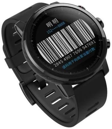 Смарт-часы Xiaomi Amazfit Stratos Black/Black