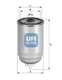 Фильтр топливный UFI 24.526.00