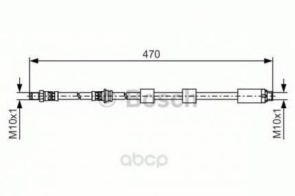 Тормозной шланг Bosch 1987481481
