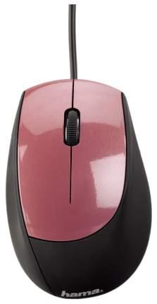 Проводная мышка Hama M364 Pink/Black (52386)