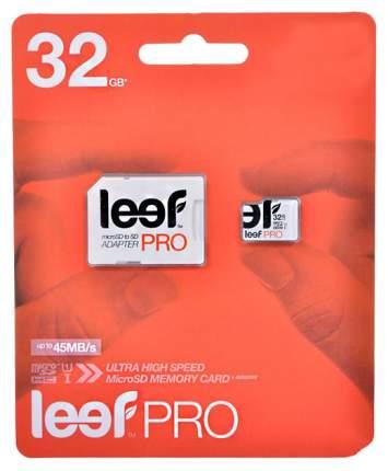 Карта памяти Leef Micro SD LFMSDPRO-03210R 32GB