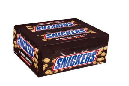 Батончик Snickers шоколадный 50.5 г 48 штук