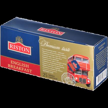 Чай черный Riston английский завтрак 25 пакетиков