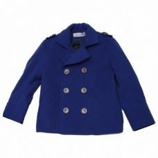 Пальто Bon&Bon синее Английский мальчик 252 р.122