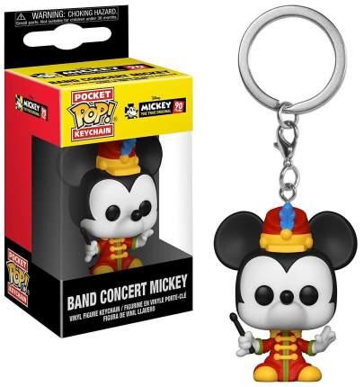 Брелок Mickey: The True Original (90 Years) - Pocket POP! - Band Concert Mickey (4 см)