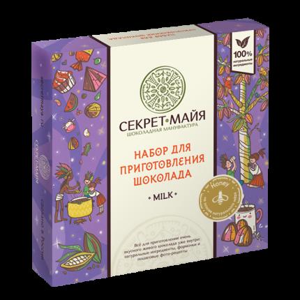Набор для приготовления шоколада Секрет Майя милк хани