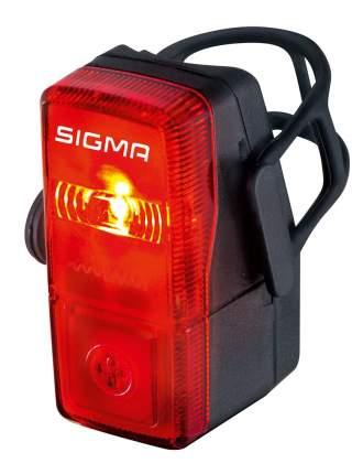 Велосипедный фонарь задний Sigma Cubic черный