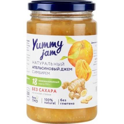 Джем апельсиновый Yummy jam с имбирем без сахара 350 г