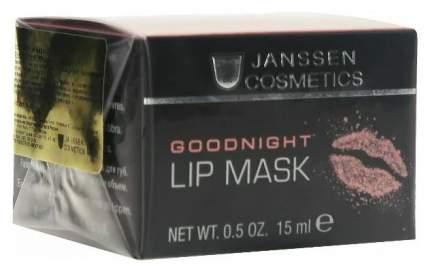 Маски для губ Janssen Goodnight Lip Mask 15 мл