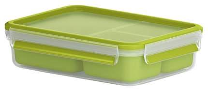 Контейнер для хранения пищи EMSA Clip&Close 3100518100 Зеленый, прозрачный