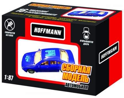 Модели для сборки HOFFMANN Машина синий, голубой, черный