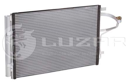 Радиатор кондиционера Luzar для Hyundai Elantra 2015- LRAC08X6