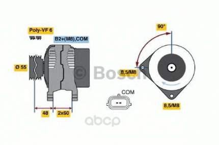 Генератор Bosch 0986049030