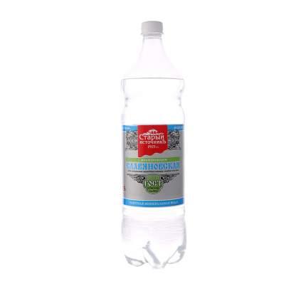 Вода Славяновская старый источник минеральная питьевая пластик 1500 мл