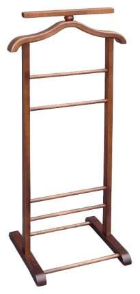Вешалка Мебелик костюмная В 6Н Темно-коричневый