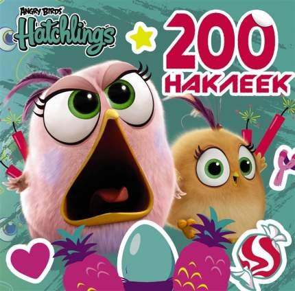 Артбук Angry Birds, Hatchlings, 200 наклеек